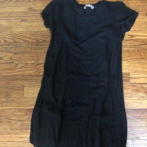 Michael stars mesh black dress